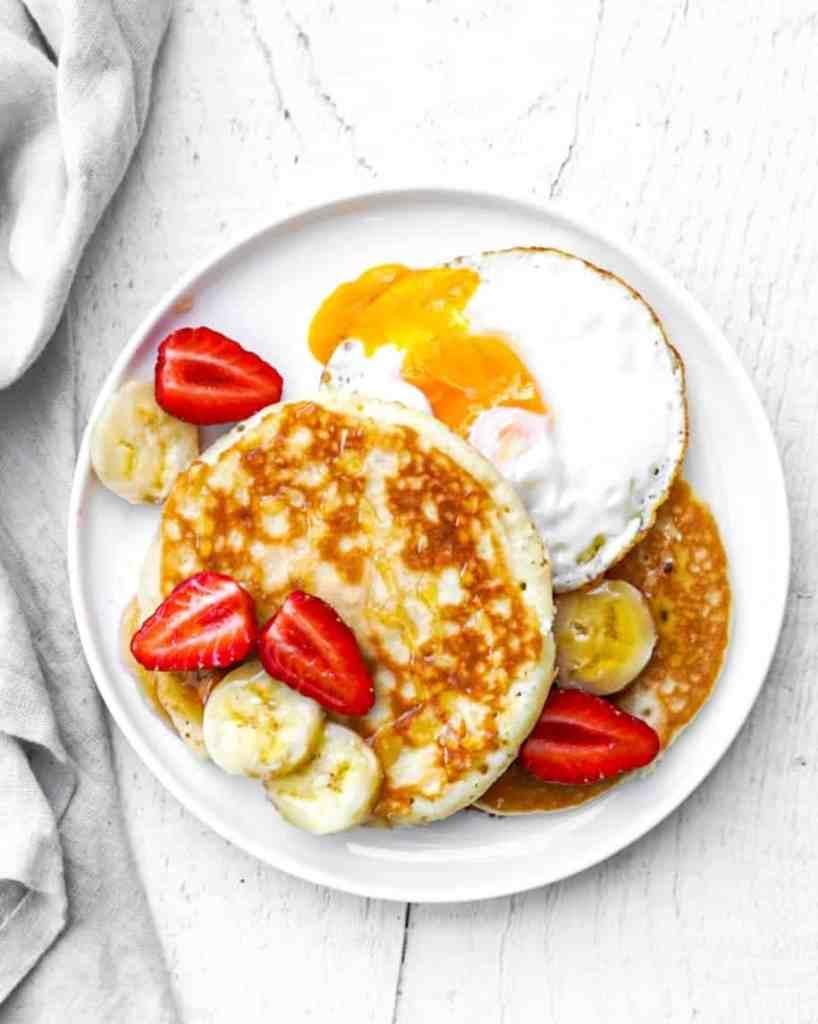 pancakes à l'avoine