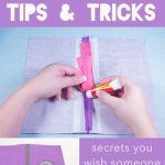 Zipper Tips & Tricks