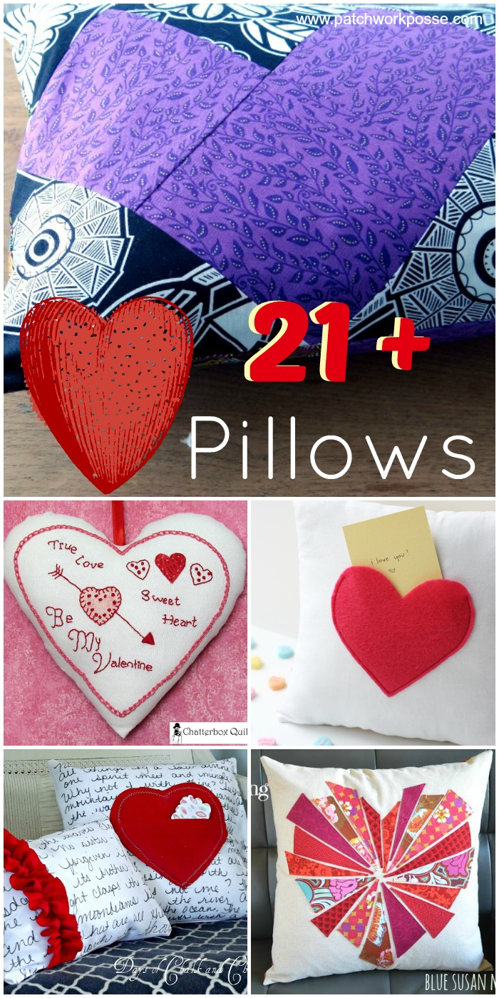 heart pillow round up
