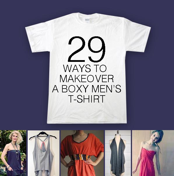 T Shirt Makeover 29 Ways To Make Over A Men 39 S T Shirt
