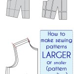 Make a Sewing Pattern Bigger (or Smaller)