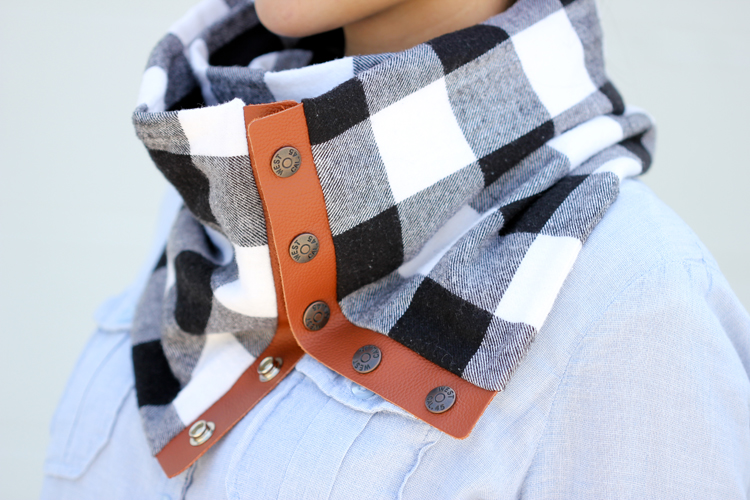 flannel scarf tutorial