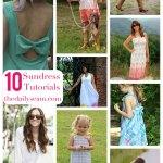10 Sundress Tutorials