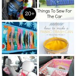 20+ DIY Things To Sew For The Car