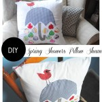 Spring Showers Pillow