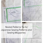 Tracing Nested Sewing Patterns