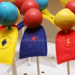 Super Hero Capes for Suckers and Cake Pops