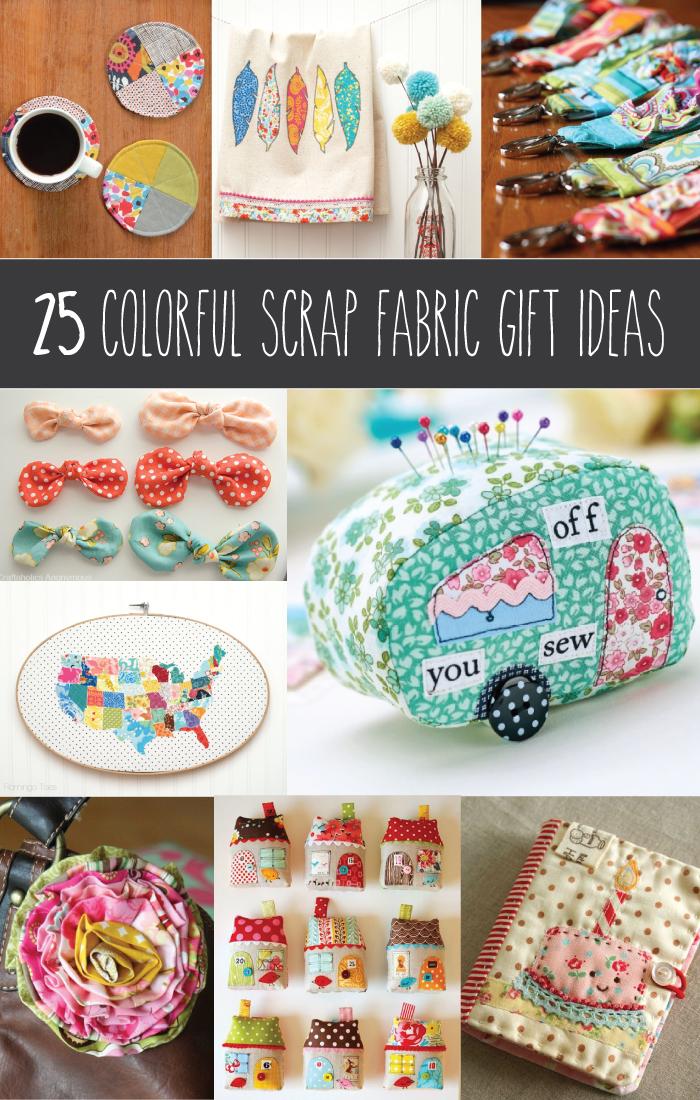 25 Colorful Scrap Fabric Ideas