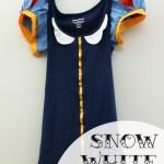 Easy DIY Snow White Shirt
