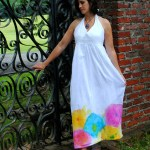 Halter Top Maxi Dress Pattern