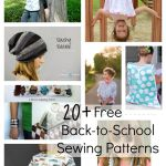 Back-to-School Sewing Patterns