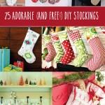 25 Adorable Stockings to Make