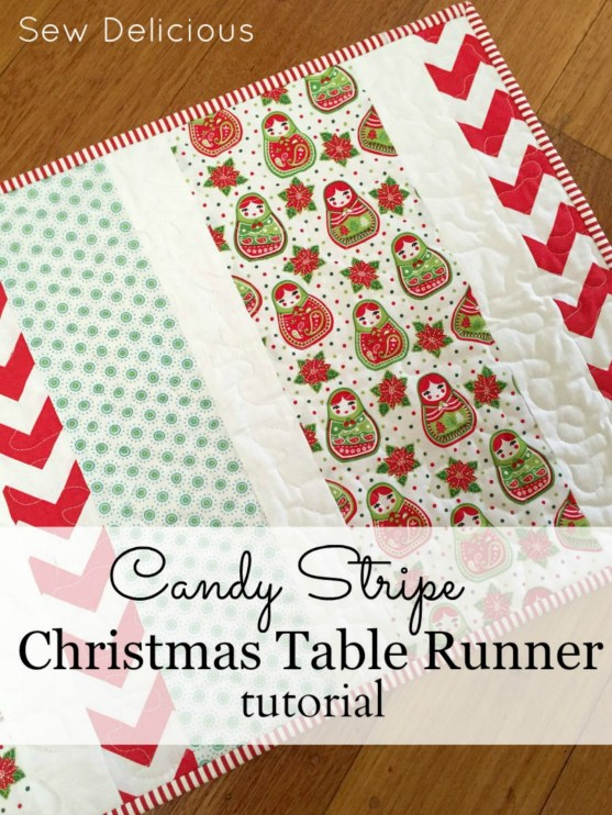 Christmas Table Runner Tutorial large