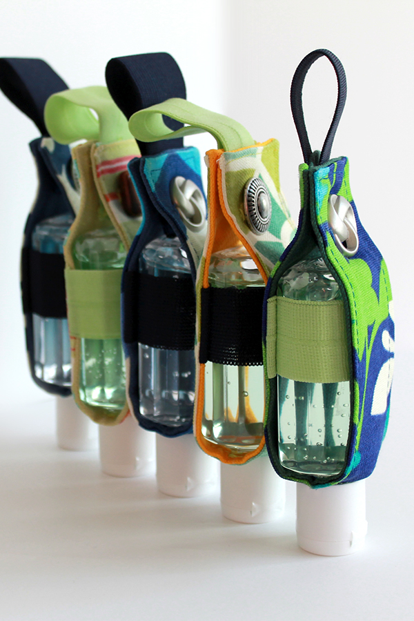 Hand Sanitizer Tutorial from The Inspired Wren -- Perfect Teachers Gift!