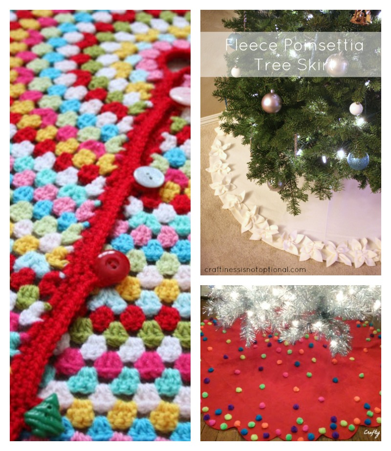 Modern Christmas Tree Skirts