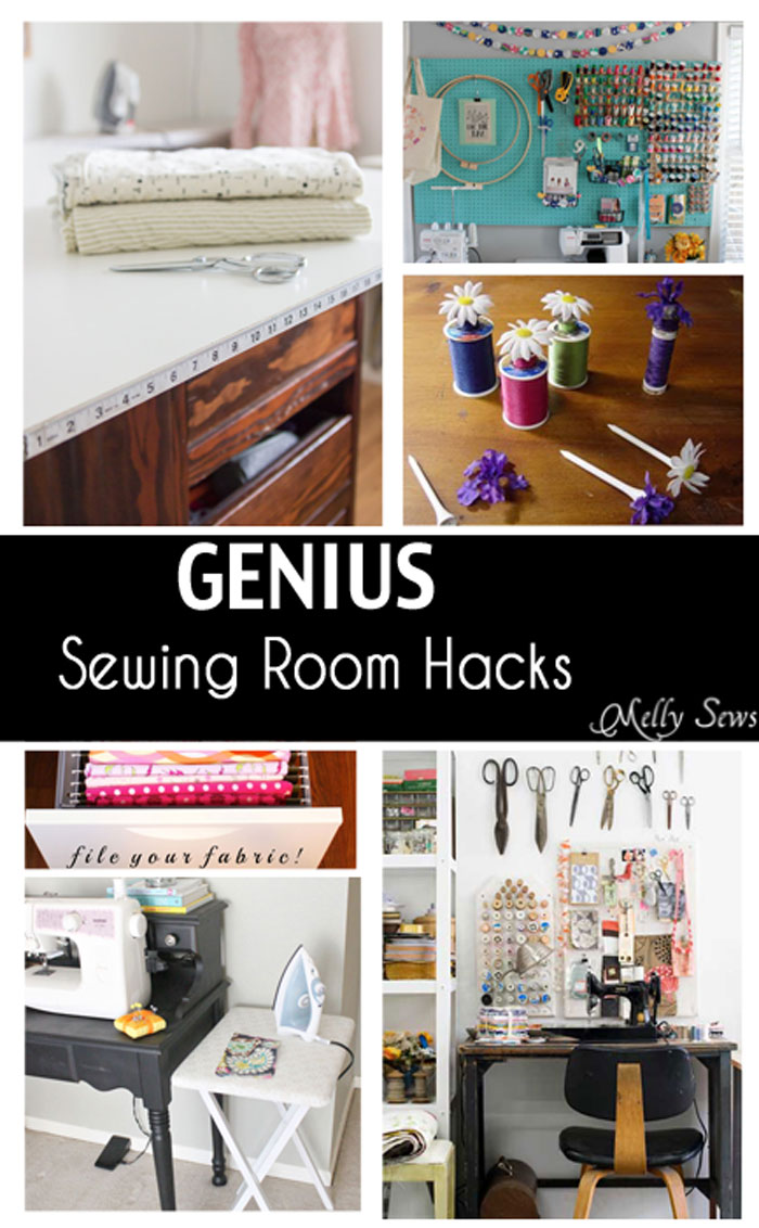 These are SO Handy! See this round up of Sewing Room Tips from Melly Sews