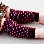 Toddler Leg Warmer Tutorial
