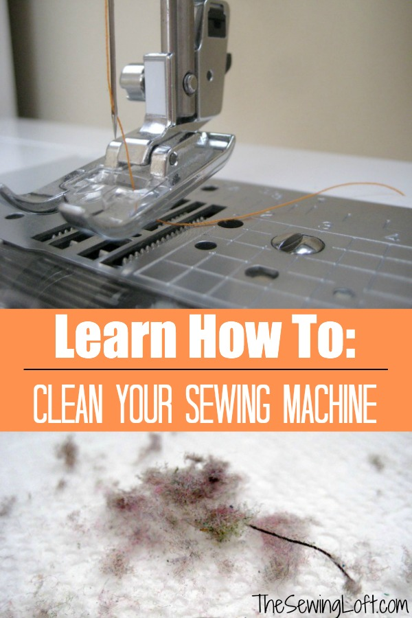Keep your machine purring like a kitten with routine sewing machine maintenance. Just a few after each project can really extend the life of your machine.