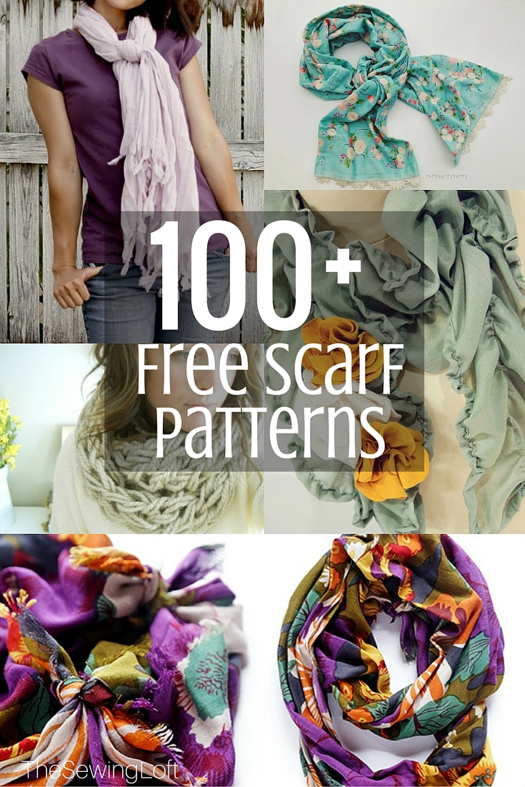 Keep warm this winter season with one of these easy to make scarf patterns.