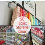 Awesome Fabric Storage Ideas