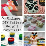 Creative Sewing Pattern Weights