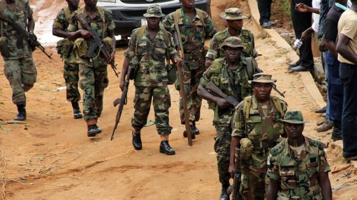 Soldiers attack Punch Newspaper circulation Vehicle in the South-South