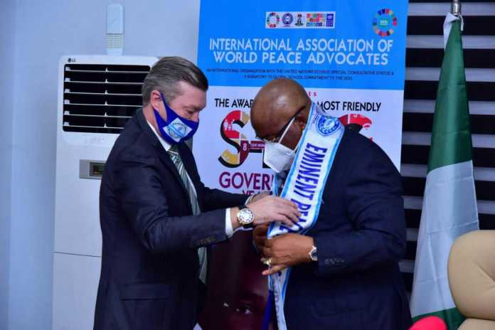 Uzodimma wins 2020 SDG most-friendly governor 2