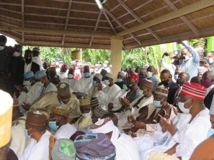 Tinubu, El-Rufai, Ganduje, others attend Atiku and Ribadu's children's wedding (photos) 2
