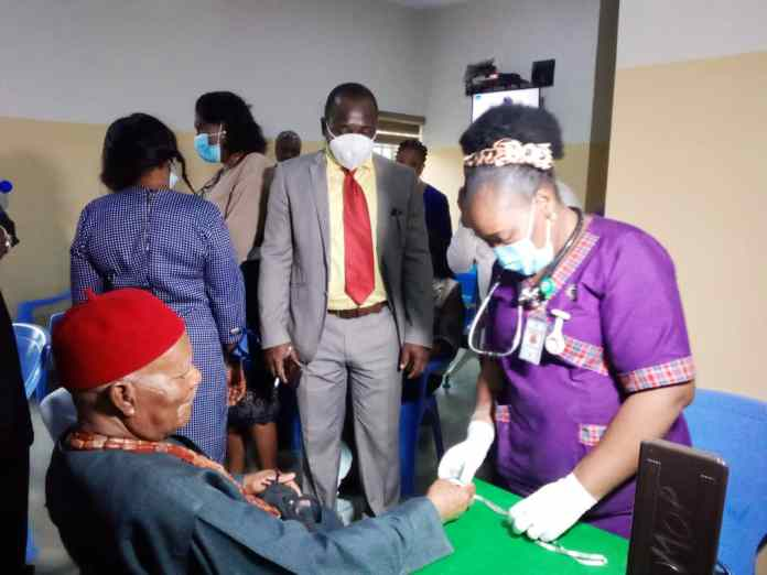 NAUTH Community Welcomes Igwe Nnewi To Perm Site, as activity begins 1