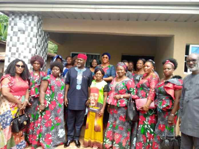 Tears of joy in Anambra communities as Moghalu hands over bungalows to widows 1