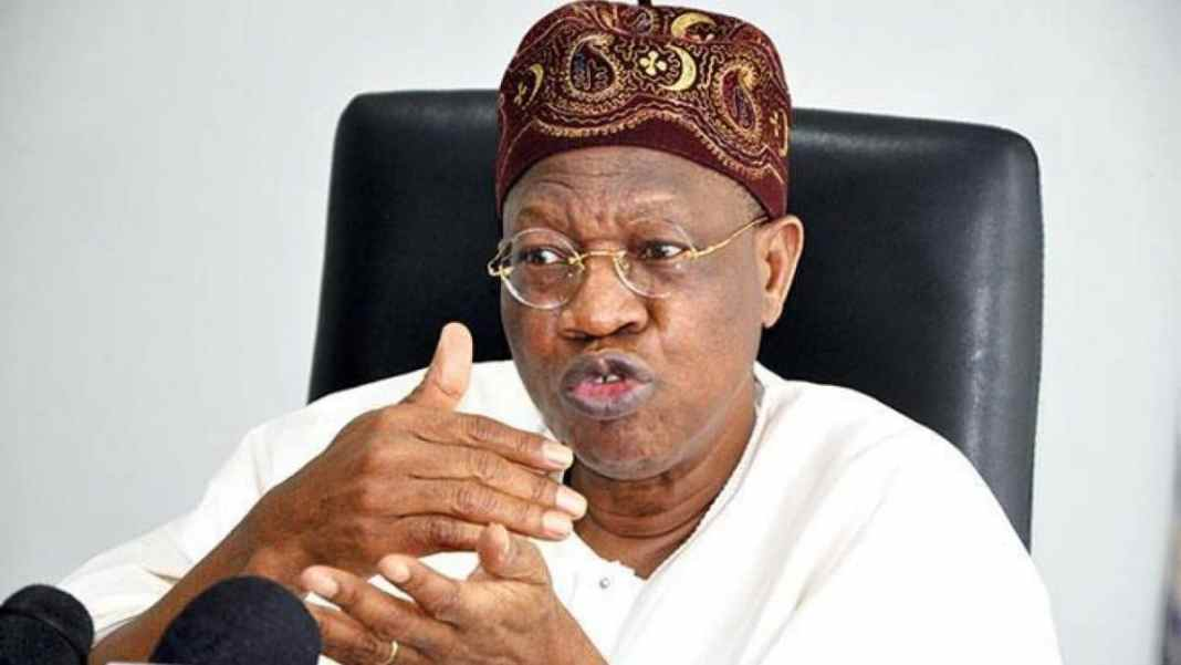 Nigeria not a failed state, can't go the way of Afghanistan - Lai Mohammed