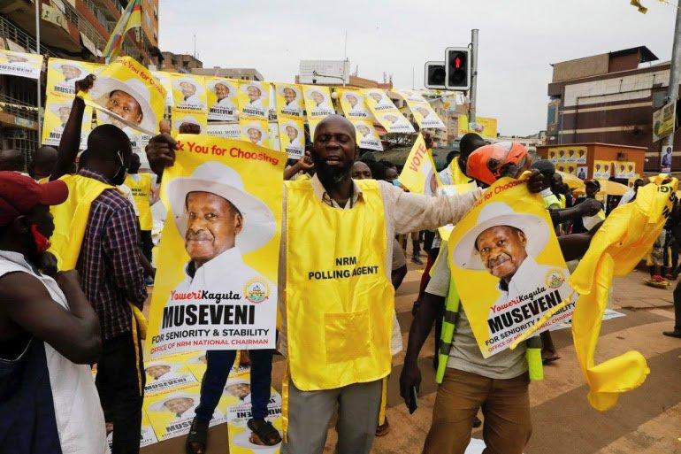 Museveni declared winner of disputed Uganda presidential election 3
