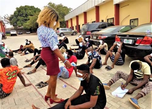 30 suspected internet fraudsters arrested by EFCC in Enugu 3