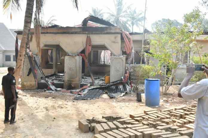 Enugu deploys armoured tank as community goes up in flames…25 houses burnt 2