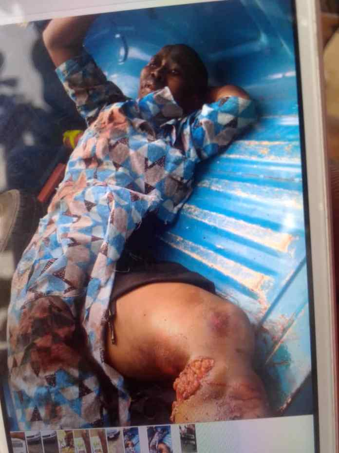 Woman crushed to death while crossing road in Anambra 1