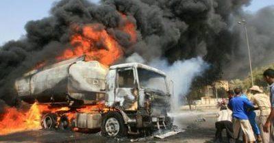 Tanker explodes along Oshodi-Apapa Expressway 3