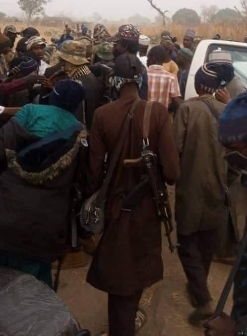 Sheikh Gumi meets bandits who kidnapped 27 Kagara students (Photos) 1