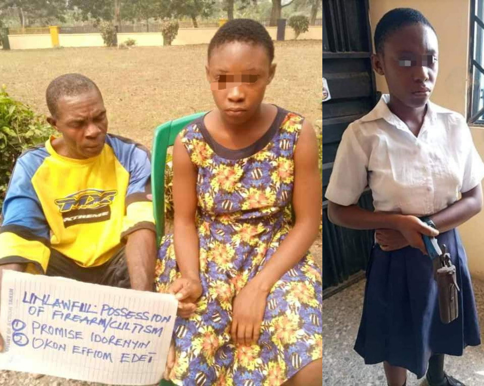 """""""I got the gun from my married boyfriend who has 6 kids"""" Girl who took gun to school in Calabar confesses 4"""