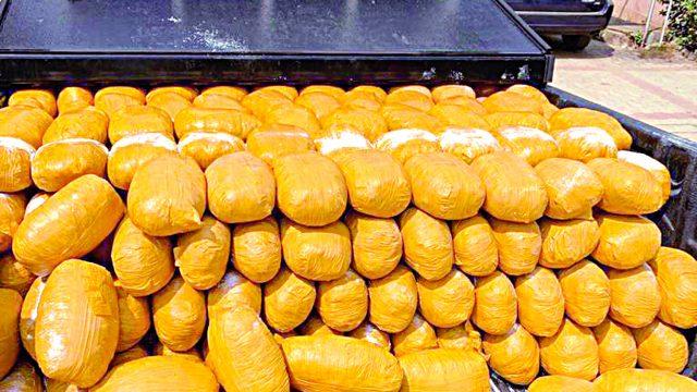 NDLEA arrests fake military officers with 234kg parcels of drug 3