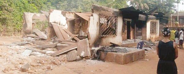 Anambra hunter shoots wife, son dead, sets house ablaze 3