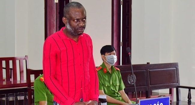 Nigerian sentenced to death for drug trafficking in Cambodia 3