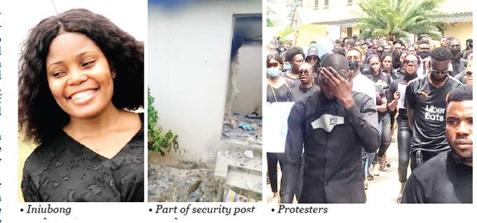 Slain jobseeker: Mob vandalises Akwa Ibom alleged serial rapist's house, 'arrests' father 3