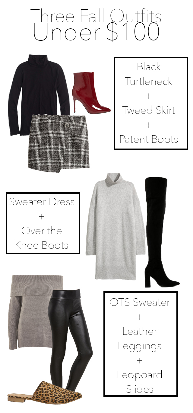 Three Fall Outfits Under $100