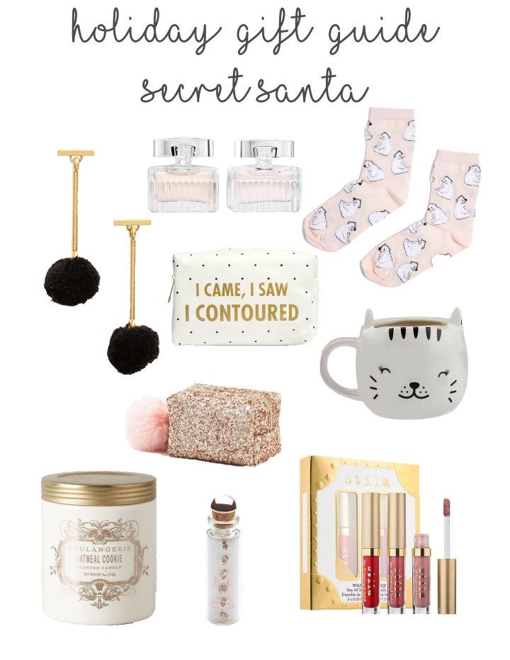 Gift Guide // Secret Santa