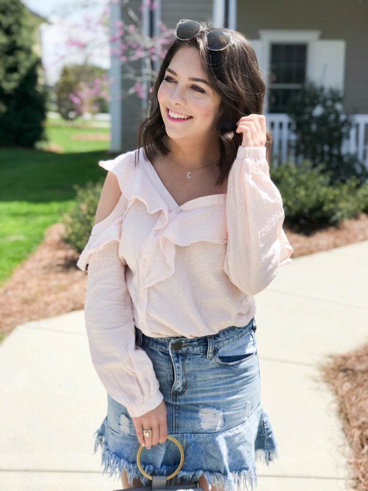 Ruffle Top and Skirt