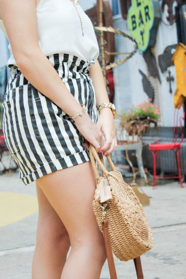 paper bag waist shorts 4