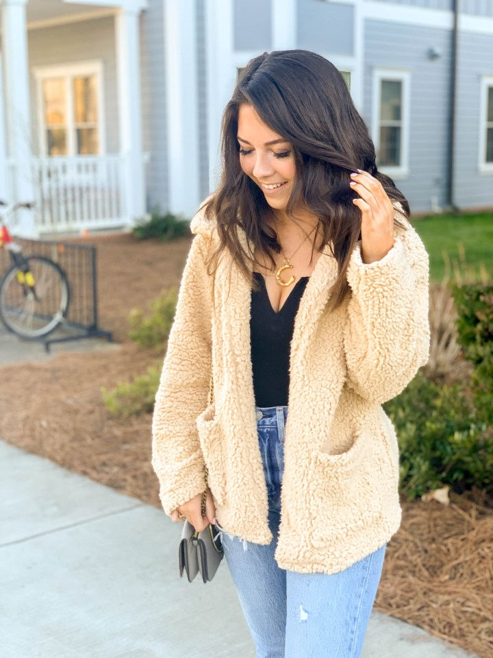 The Teddy Coat You Can Wear Through Spring 4