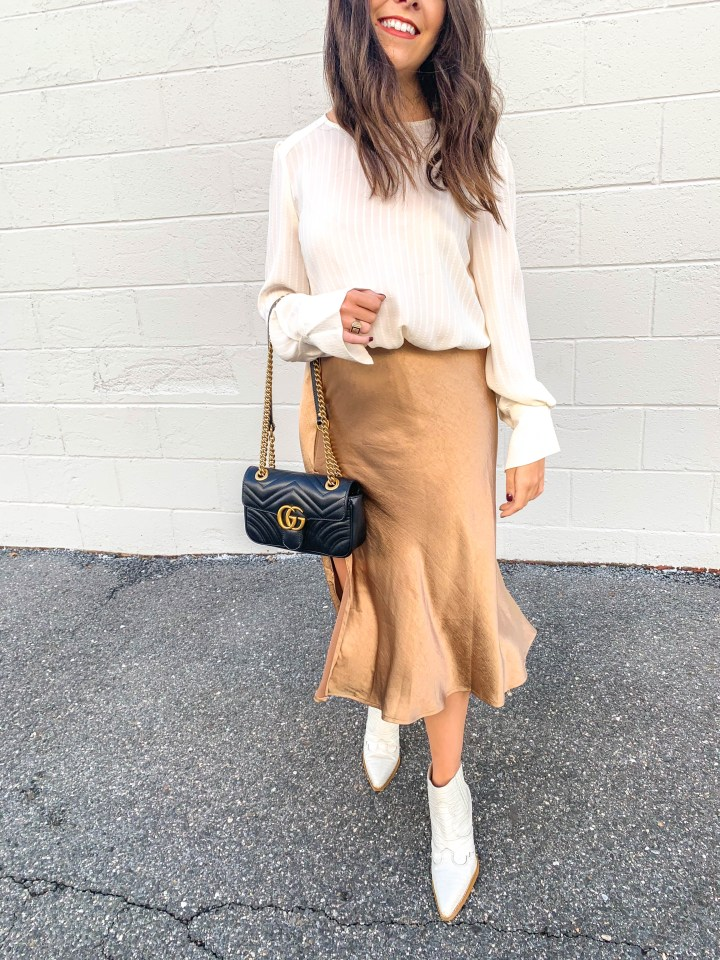 Slip Skirts and How to Wear Them for Fall
