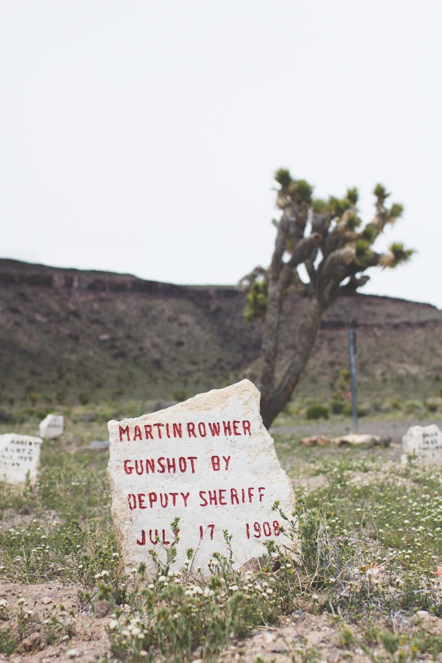 headstone, goldfield pioneer cemetery