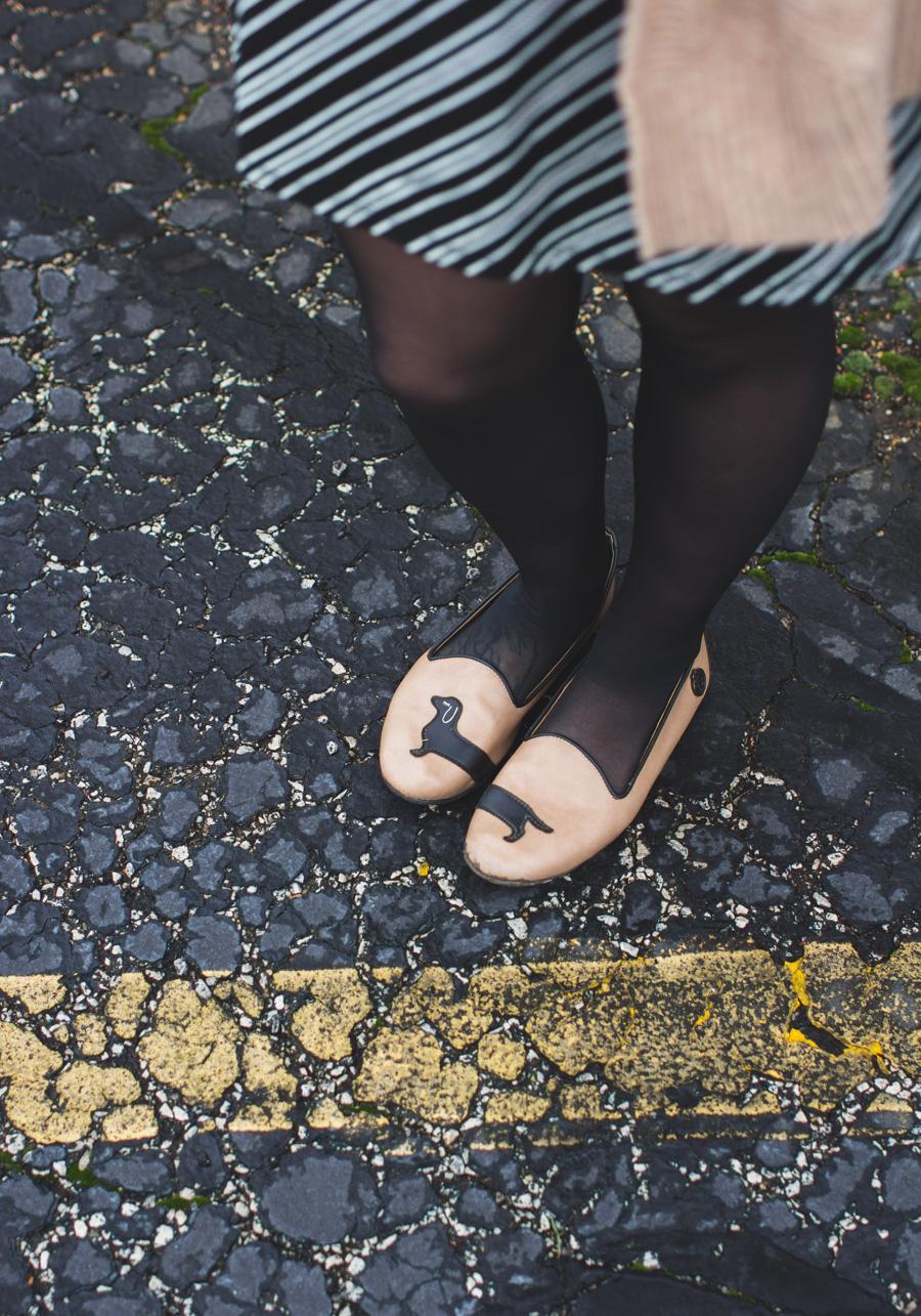 dog shoes, fashion blog, the dainty squid